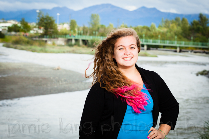 bartlett high school senior portraits, anchorage, alaska