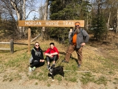 Morgan Horse Trail: we had a picnic under this sign