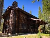 """The """"cabin"""" at Red Fish Lake"""